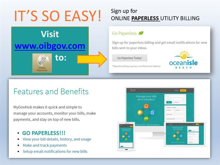 Paperless Utility Billing
